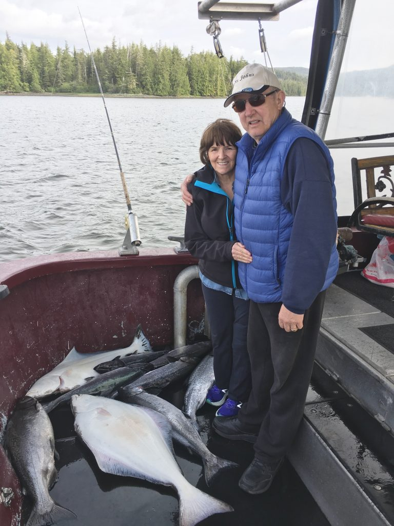 Catching Halibut and Salmon